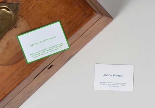 Gutscheine für Briefpapier
