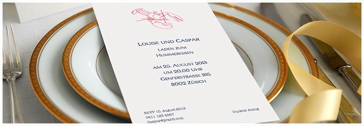 Illustrierte Einladungskarten Zum Selber Gestalten