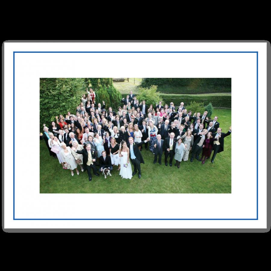 Dankeskarten zur Hochzeit mit Foto & feinem Rahmen | Prantl seit 1797
