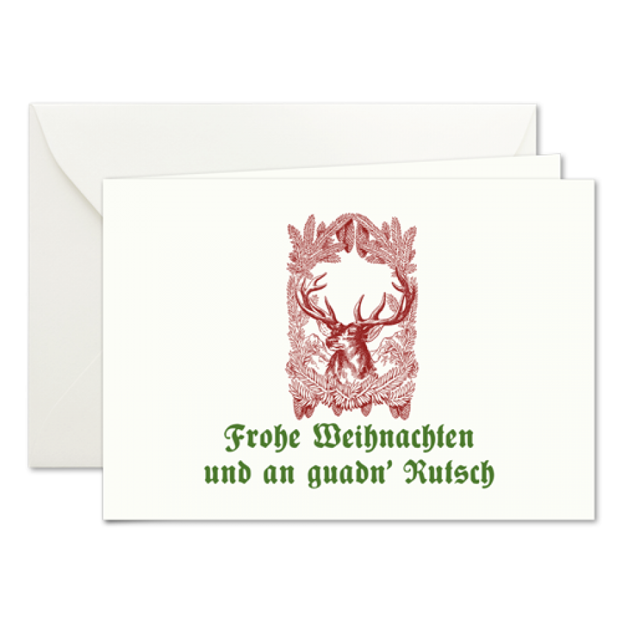 Weihnachtskarten Mit Jagdmotiv Prantl Seit 1797