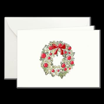 Adventskranz, illustrierte Weihnachtskarten von Kera Till