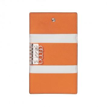 'Akabeni' Schlüsseletui in Orange