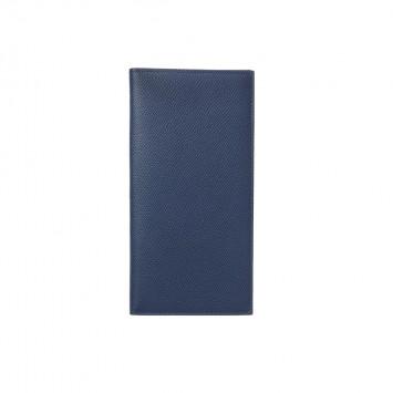 'Asaake' Schmale Brieftasche in Marineblau