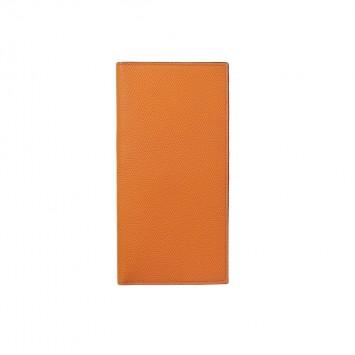 'Asaake' Schmale Brieftasche in Orange