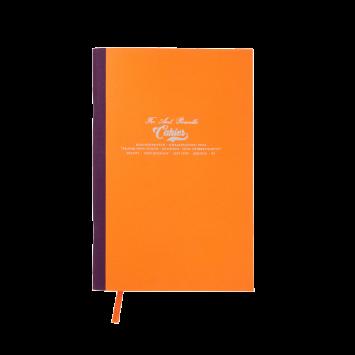 Kleines Cahier in Orange