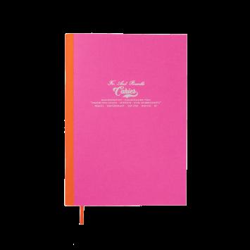 Kleines Cahier in Pink