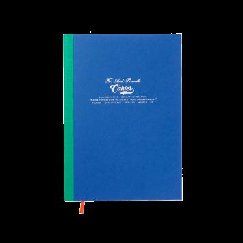 Großes Cahier in Royal Blau