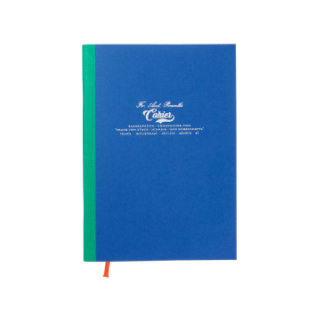 Kleines Cahier in Royal Blau