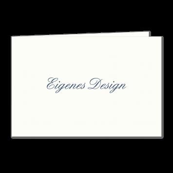 Eigenes Design - A6 Klappkarten