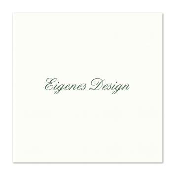 Eigenes Design - Quadratische Karten Zweiseitig