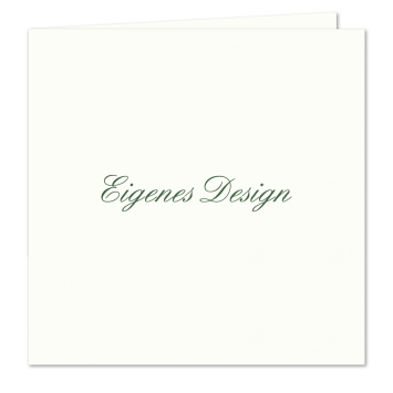 Eigenes Design - Quadratische Klappkarten