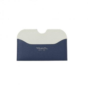 'Hanaasagi' Kreditkartenhalter mit gerundeten Kanten in Marineblau