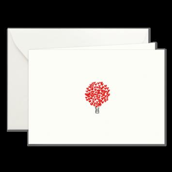 Herz-Ballon, illustrierte Karten von Kera Till
