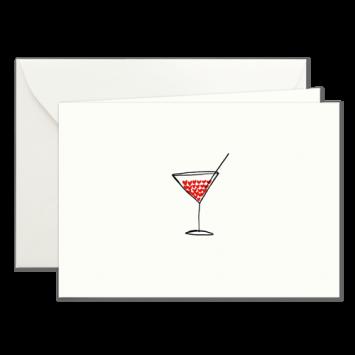 Herz-Cocktail, illustrierte Karten von Kera Till