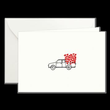 Herz-Wagen, illustrierte Karten von Kera Till