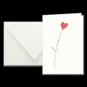 Love Letter, illustrierte Karten von Kera Till