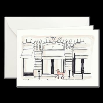Pudel de Luxe, illustrierte Karten von Kera Till