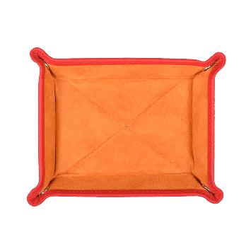 Kleiner Taschenentleerer in orange / orange
