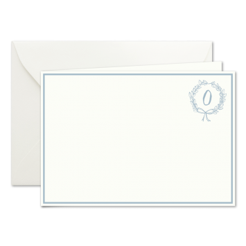 """""""O"""" Monogramm, illustrierte Karten von Kera Till"""