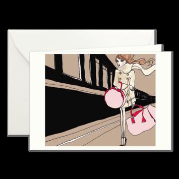 Orient Express, illustrierte Karten von Kera Till