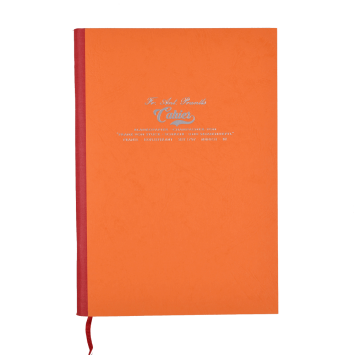 Cahier in Orange