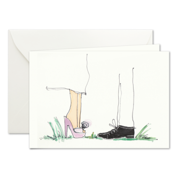 Small Talk, illustrierte Karten von Kera Till