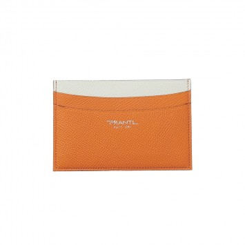 'Tsugihanada' Kreditkartenhalter mit geraden Kanten in Orange