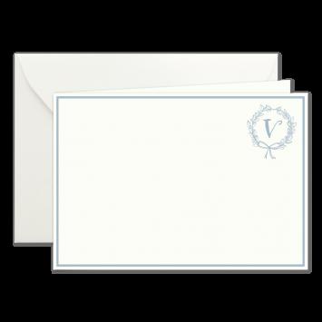"""V"" Monogramm, illustrierte Karten von Kera Till"