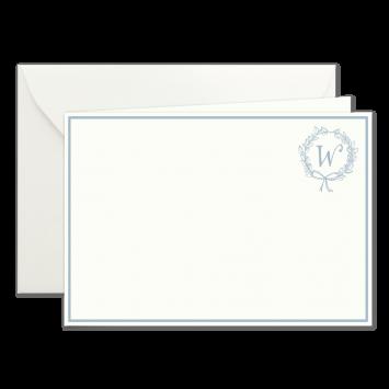 """""""W"""" Monogramm, illustrierte Karten von Kera Till"""