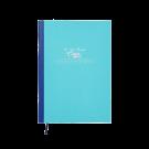 Großes Cahier in Hellblau