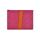 Klapp-Kartenetui in pink