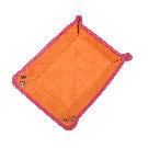 Kleiner Taschenentleerer in pink / orange