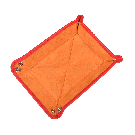 Kleiner Taschenentleerer in orange / orange
