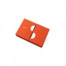 Jubiläumsbox - Personalisiertes Briefset in Orange