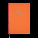 Cahier in Orange