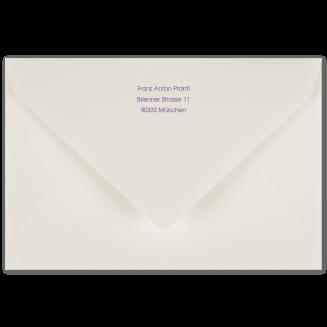 Passende bedruckte B6 Briefhüllen