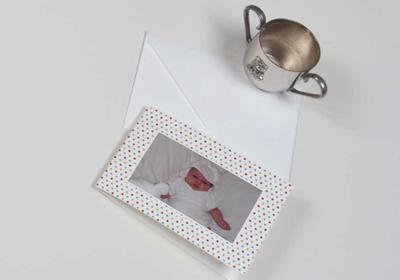 Geburtsanzeigen mit Foto