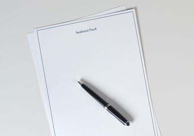 Hochwertige A4 Briefbogen