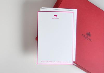 Elegante A5 Briefbogen