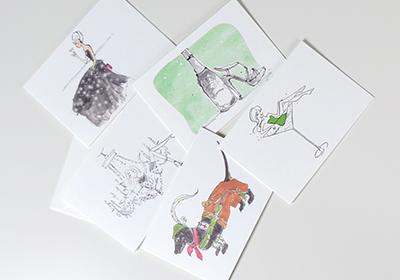 Illustrierte Karten von Kera Till