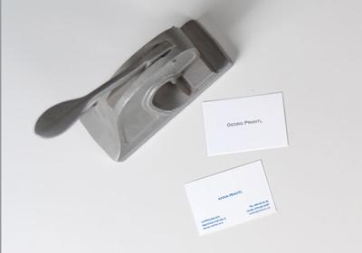 Stahlstich Visitenkarten