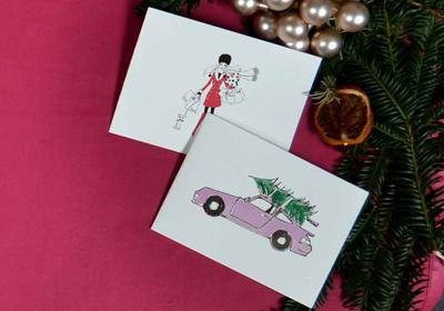 Kera Till Weihnachtskarten