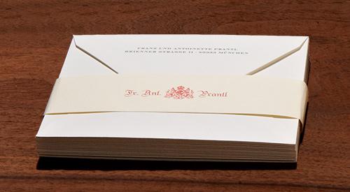Briefhüllen mit und ohne Druck